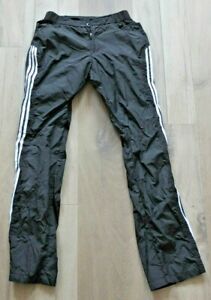 Adidas Training Trousers Size S 140 146 Top Sport Jogging Black