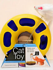 New listing Ball Track Cat Toy with Mouse Swatter -Free Fresh Organic Catnip