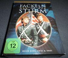 Fackeln im Sturm Sammleredition (8-DVD Box Set) Buch Eins, Zwei & Drei NEUWERTIG
