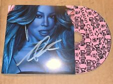 RARE MARIAH CAREY OFFICIAL AUTOGRAPHED SIGNED CAUTION CD NYC GTFO WITH YOU