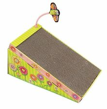 Fat Cat Big Mama`s Scratch `n Play Ramp for Cats with Catnip , New, Free Shippin