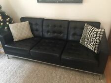 Steel Leather Sofas & Couches