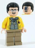NEW LEGO JURASSIC PARK WORLD 75936 DENNIS NEDRY MINIFIGURE DINOSAUR - GENUINE