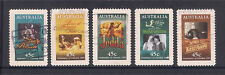 (UXAU086) AUSTRALIA 1995 Centenary of the Cinema fine used complete set