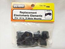 Du-Bro Rc Plane .50 - .75 Motor Mounts Replacement Elastomeric Elements 658
