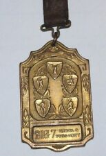BIG 7 Track & Field Meet High Point Honors 1924 Pocket Watch Fob GOLD Filled OLD