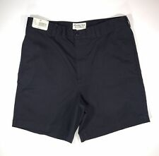Roundtree & Yorke Men's Navy Blue Walking Shorts Classic Fit Size 34