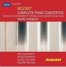 Mozart Complete 10-CD Piano Concertos Ingrid Haebler DECCA New Sealed