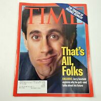 Time Magazine January 1998 Tragedy of Michael Kennedy Jerry Seinfeld Quits
