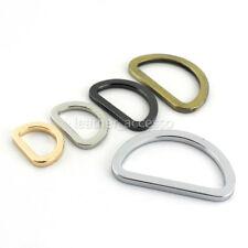 6 pcs Metal Mould Form D-Ring Buckle Leather craft Garment Bag Strap Hardware