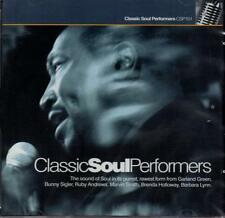 CLASSIC SOUL PERFORMERS Various NEW & SEALED NORTHERN SOUL CD RUBY A, MARVIN SM