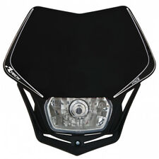 Mascherina portafaro Racetech V-Face  nero headlight