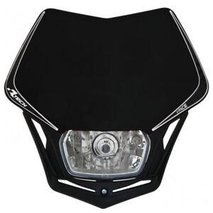 Verkleidung Scheinwerfermaske Motorrad Cross Enduro V-Face Racetech Sw Universal