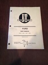 FORD I&T TRACTOR SHOP SERVICE REPAIR MANUAL BOOK 2810 2910 3910