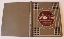Herzog Wittekind v. Wilhelm Kotzde - Bilder von Ernst Liebermann Jugendstil 1910