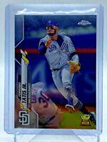 2020 Topps Chrome Baseball Fernando Tatis Jr  #84  mint from pack