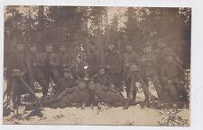 I 207 - WWI, Weihnachtsfeier im Felde,  1916