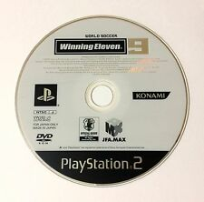 USED PS2 Game Disc Only World Soccer Winning Eleven 9 JAPAN Sony PlayStation 2
