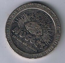 Jim Kelley's Nugget $1.00 Gaming Token Crystal Bay Nevada 1980
