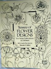 Dover Pictorial Archive: A Treasury of Flower Designs for Artists, Embroiderers