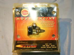 COX TEE DEE 010 High performance RC engine