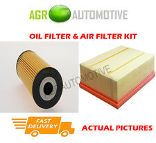 DIESEL SERVICE KIT OIL AIR FILTER FOR VOLKSWAGEN CRAFTER 35 2.5 136 BHP 2006-13