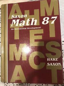 Saxon Math 87 Workbook