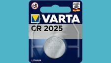 30 x Varta CR2025 CR 2025 6025 3V Lithium Knopfzelle Blister Batterien