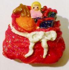 cache bouton rétro création paquet cadeaux jouet relief couleur vernis * 4254