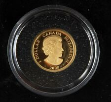 2008 $1 CANADA 1/20 OZ PROOF GOLD LOUIS COIN