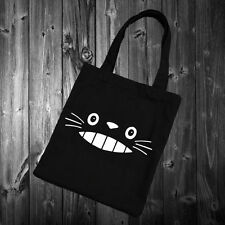 Totoro Cute Face Sac Fourre-tout Tumblr Blogueur mode homies swag chat chaton