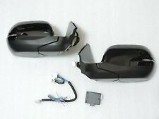 Power Folding Mirrors w/switch Lights Left Hand drive For 12-15 HONDA CRV