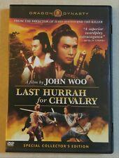 Last Hurrah for Chivalry DVD Dragon Dynasty John Woo