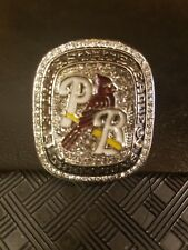 2017 Palm Beach Cardinals Florida State League Championship Ring Excellent SGA
