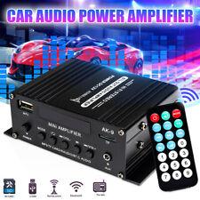 New listing 400W 12V Car Digital Power Amplifier bluetooth Audio HiFi Stereo Fm Sd Aux Mp3 �