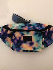 Victoria's Secret Authentic PINK Fanny Pack Belt Bag Oil Spill Tie Dye - NWT