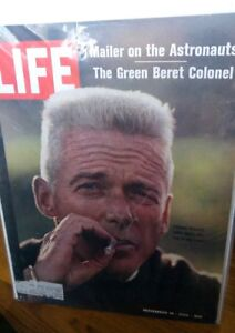 LIFE November 14 1969 Nov 11/69 COLONEL ROBERT RHEAULT GREEN BERET NORMAN MAILER