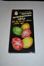 Easter Egg paint dye Art Decorating Writing Drawing Wax Kit Lot Pen & Beeswax