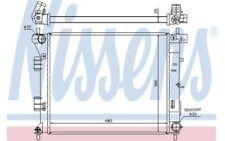 NISSENS Radiador, refrigeración del motor BMW VOLKSWAGEN POLO 67607