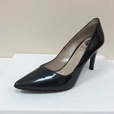 Lisa Kay Marilyn gunmetal grey patent courts, UK 6/EU 39, RRP £149, BNWB