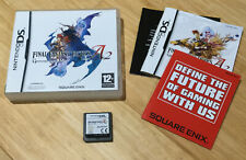 Nintendo Ds Final Fantasy Tactics A2 Grimoire Of The Rift Complete With Manuals