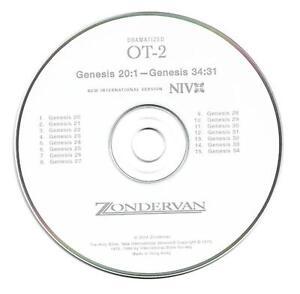 THE HOLY BIBLE New International Version (CD, 2001 ZONDERVAN) AUDIO CD'S