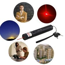 Red Laser Pointer Pen 650nm Aerometal Adjustable Focus Burning Lazer Beam 1mw