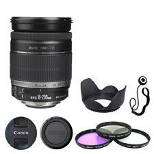 Canon EF-S 18-200mm f/3.5-5.6 IS Lens + Filter Kit + Lens Hood + Cap Kepper