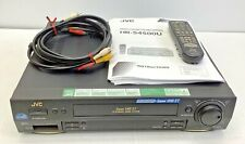 New ListingJvc Hr-S4500U Super Vhs Vcr S-Vhs Stereo Svhs S-Video With Manual and Remote