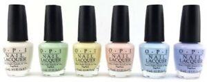 OPI Soft Shades Pastels Nail Varnish**2016 COLLECTION** 3.75ml and 15ml bottles!