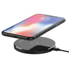 Samsung iPhone Wireless Qi Cellphone Charger Cordless Charging Pad Universal 10W