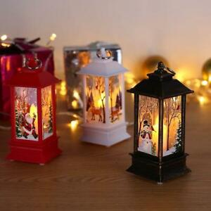Christmas Santa Claus LED Lamp Home Light Flame Decoration Light Home Decor A+++