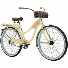 """NEW Huffy Panama Jack 26"""" Beach Cruiser Bike for Women Cream Vanilla SHIPS ASAP!"""