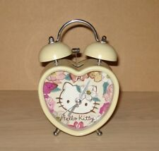 Hello Kitty Alarm Clock Heart Shaped